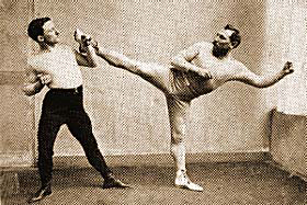 Savate from France
